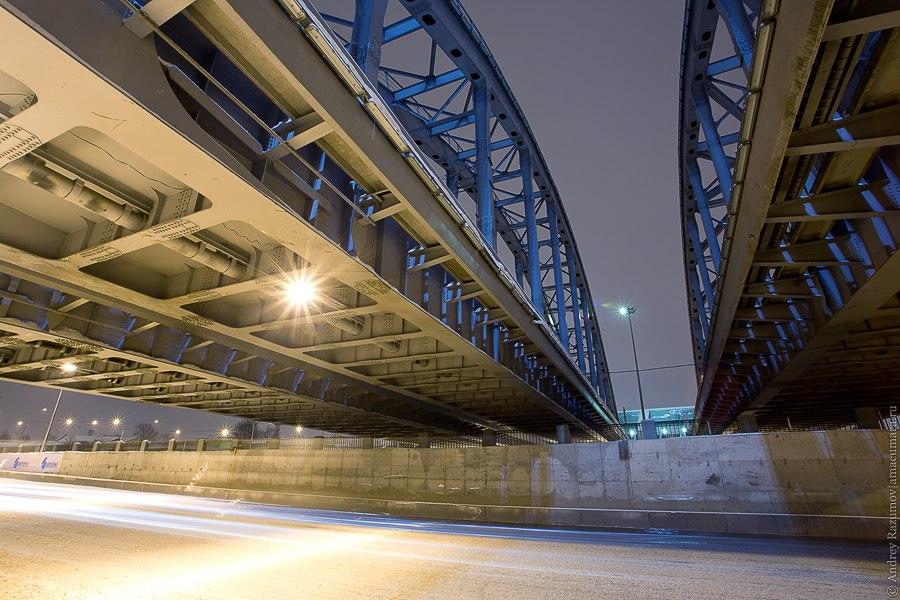 Американские мосты набережная обводного канала
