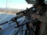 Снайперы на футбольном стадионе