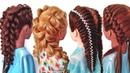 ПРИЧЕСКИ НА ПЕРВОЕ СЕНТЯБРЯ 2018 Прически на Выпускной в Садик Прически из резиночек