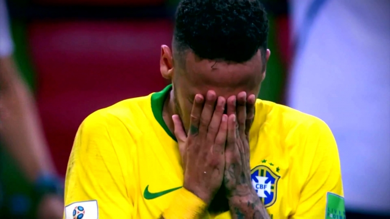 Brasil 1 Bélgica 2 Te quedaste en Courtois