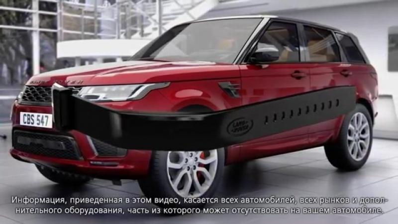 Электронный ключ-браслет Range Rover Sport