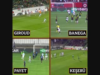 Лучшие голы со штрафных в Лиге Европы