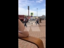 Пожарные стянуты к ТРЦ Красная Площадь в Армавире 18.05.18