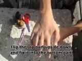 Как сделать ловушку для рыбы за 30 сек .mp4
