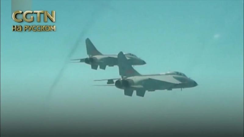 Видео отчет с учений ВВС НОАК «Красный меч-2018» - В учениях приняли участие около 100 самолетов