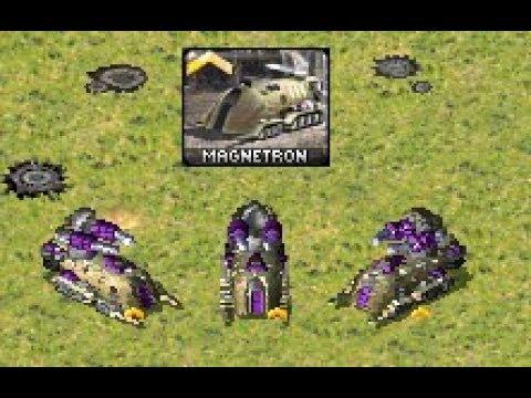 Magnetron Experiments Command Conquer Red Alert 2 Yuri's Revenge