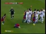 Barcelona vs Real Madrid 5 - 0 Драка в конце матча