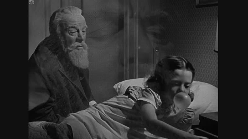 Чудо на 34-й улице / Чудеса на Рождество / Miracle on 34th Street. 1947. 1080p. Перевод MVO. VHS