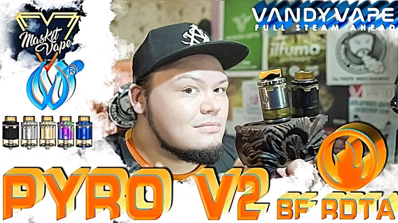 PYRO V2 BF RDTA by Vandy Vape | Дрипка-Бак для Сквонка