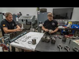 Восстановление двигателя 60-летнего пикапа chevrolet 3600