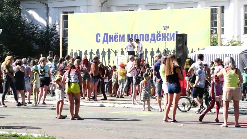 Молодежный фестиваль 7Я. Город Заозерный, 30 июня 2018 г. (автор видео - Анна Башкарёва)