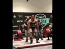 Ларри Уилльямс тяга 400 кг