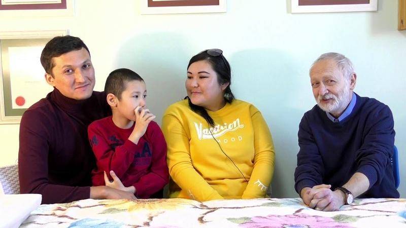 Семья Ахана: о лечении, о результатах. Интервью берёт доктор Аркадий.Центр Беэр Давид,Иерусалим