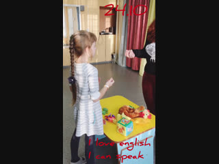 Английский язык ?? 6-8 лет I can speak