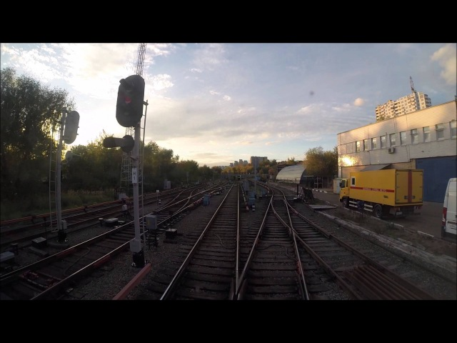 Как попадают поезда метро на линию