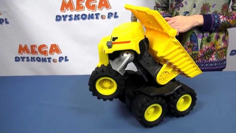 Rocky Interaktywny Robot Wywrotka Rocky the Robot Truck Matchbox
