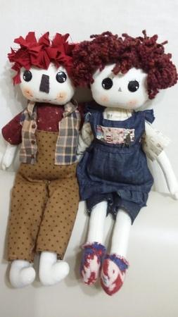 원단잘라서머리하기ㅡ컨츄리인형강좌Country Doll (피터)24
