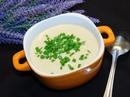 Сливочный суп-пюре с курицей и грецкими орехами