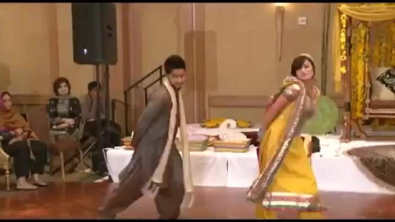 Пакистанский свадебный танец.