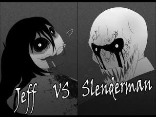Джефф Убийца против Слендермена. Часть 1: Месть