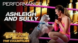 Ashleigh and Sully Trainer Introduces Incredible Dog To AGT - America's Got Talent The Champions