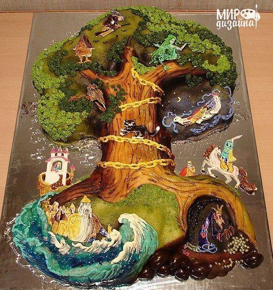 Торт Лукоморье (1 фото) - картинка