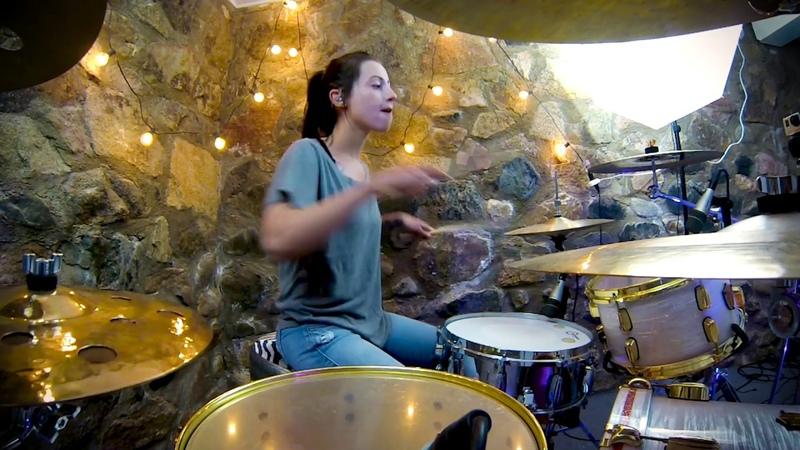 Lindsey Raye Ward - breathin - Ariana Grande (Drum Cover)