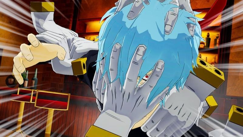 My Hero Academia: One's Justice - Shigaraki Combos, Ultimate Attacks Gameplay (1080p)
