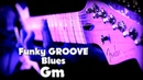 Funky Blues Backing Track for Guitar in G minor (2018)