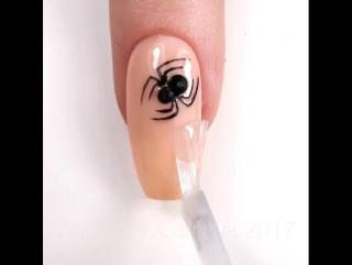 Мастер класс : Паучие ногти