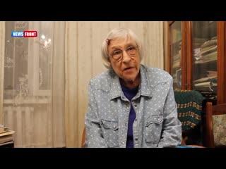 Каждый честный человек должен признать независимость Донбасса - Юнна Мориц.