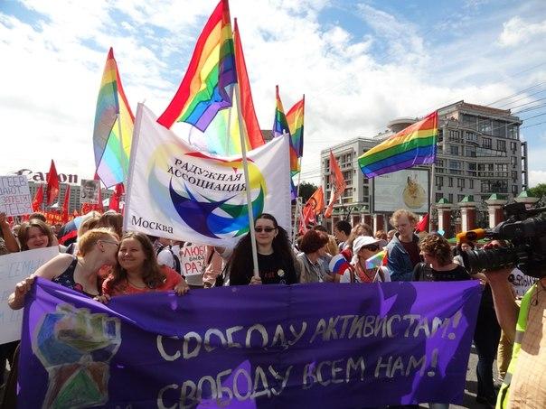 колонна на марше
