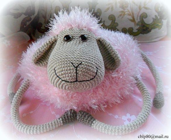 Подушка-игрушка Овечка Лола