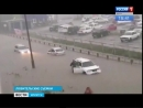 Последствия трёхчасового ливня устраняют в Усть-Илимске