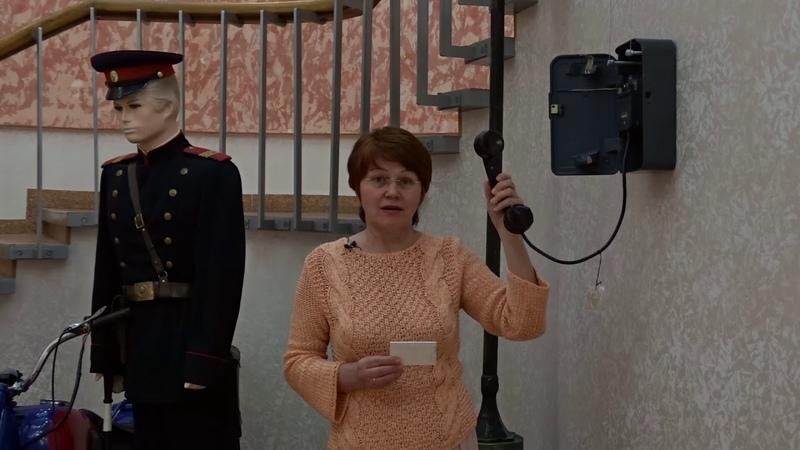 Телефонный аппарат постового на здании Омского Мединститута. 040
