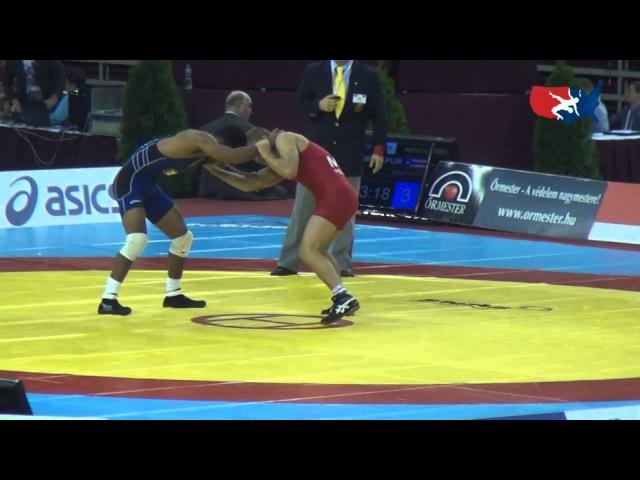 60 KG Repechage - Franklin Gomez Matos PUR vs Andrei Perpelita MDA
