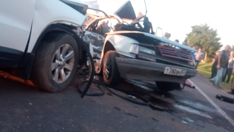 Страшная авария в Курске!Погибло 4 ребенка