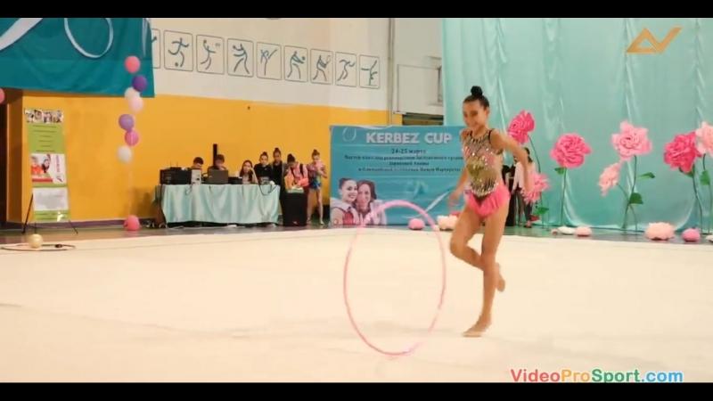 Айдана Шаяхметова - обруч Открытый Чемпионат