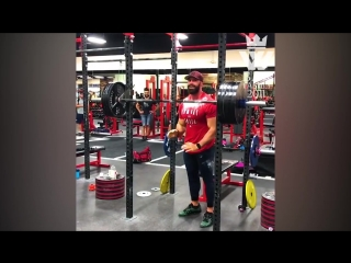 Bodybuilding monster - gym day in the life (bradley martyn)