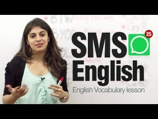 VIDEO FOR A CONVERSATION IN ISPEN.RU - Is it appropriate to use abbreviations in sms?