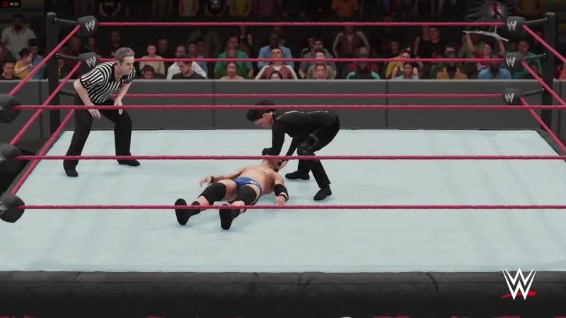 WWE RODERICK STRONG VS TAMINA - INTERGENDER MAN VS WOMAN MATCH - WWE 2K18