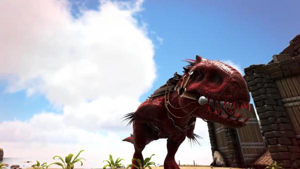 ARK: Survival Evolved - Это не Индоминус и не Дракон - ARK Survival GAIA Zombies 7