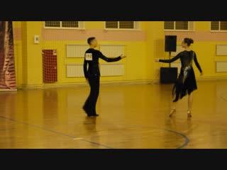 Конкурсная LA в исполнении Жени Николаева и Анжелики Козловой на турнире