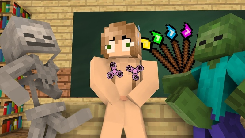 Monster School: DRAWING!? - Minecraft Animation