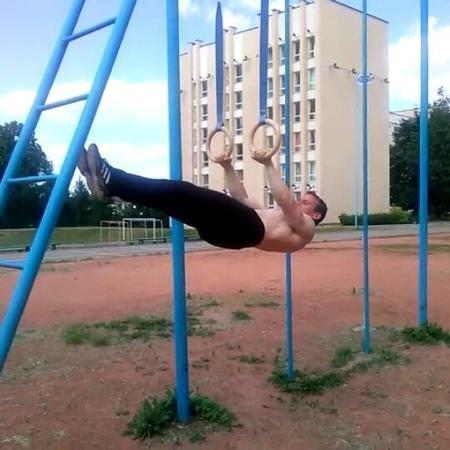 """Стаселько Игнат on Instagram: """"training Belarus Vitebsk biceps triceps workout summer горизонт пресс переднийвис"""""""