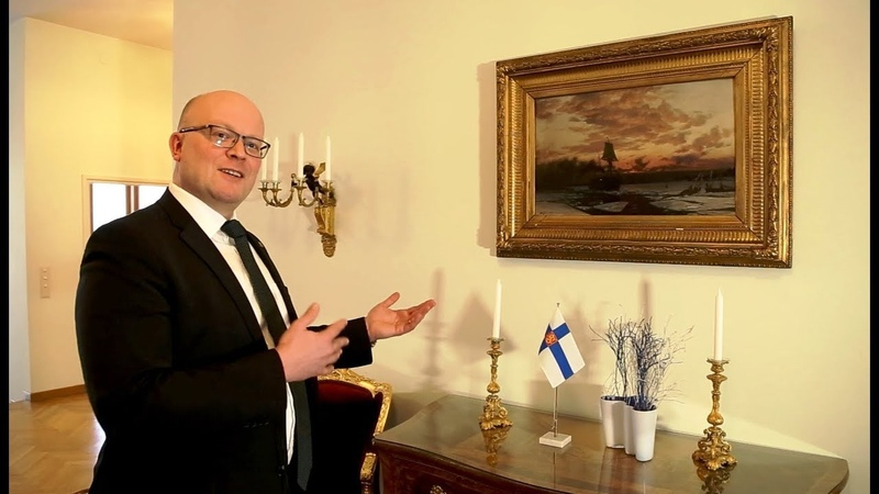 В гостях у посла Финляндии