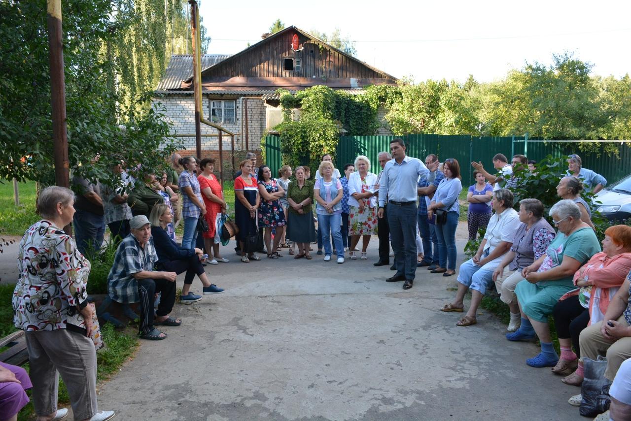 Глава администрации г.Балабаново Вячеслав Парфёнов встретится с жителями мкр. Гагарин и ул.Лесной