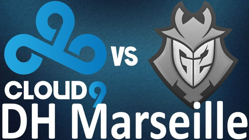 Cloud9 vs G2 (Mirage) Highlights - DreamHack Marseille 2018