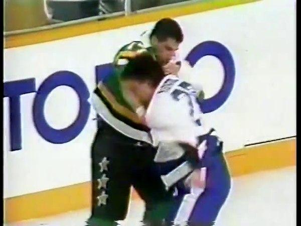 John Kordic vs Basil McRae Dec 16, 1989
