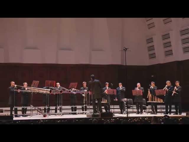 Дж. Каччини Аве Мария. Российский роговой оркестр
